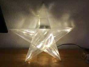 LED Star flat