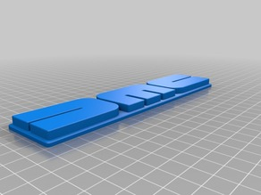 DMC 12 Delorean emblem made in fusion 360