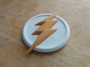 The Flash Magnetic Symbol