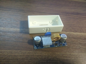 BOX for XL4015 5A DC-DC Step Down Adjustable Power Supply Module Buck Converter