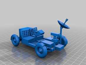 3DBear Mars Rover - a lunar rover remix