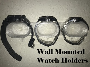 Wall Mounted Watch Holders