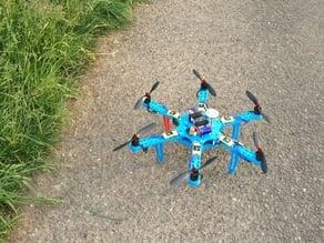 Hexacopter - Rumpfteile - centerplate v1.0
