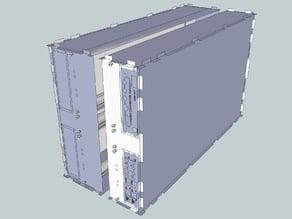 Eurorack Lasercut Case 104HP 14U CarryOn BiFold VideoSynth Case