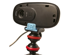 Logitech C270 Webcam Guerrilla Tripod Mount