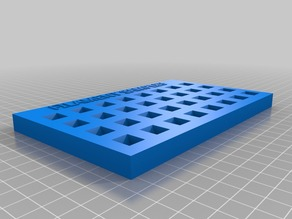 Filament Sample Tray