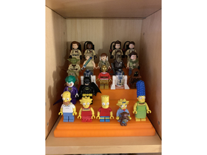 Lego Minifigures Stand