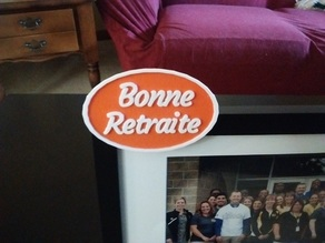 Picture Frame Badge - customize your own !