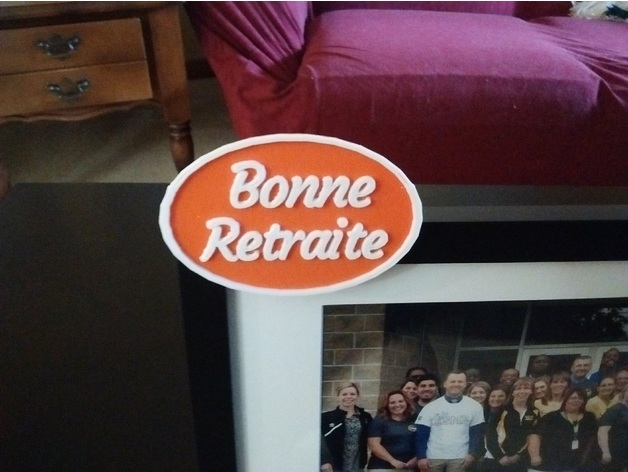 Picture Frame Badge Customize Your Own By Rlazure Thingiverse