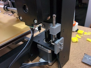 Wanhao i3 clamping adjustable z endstop