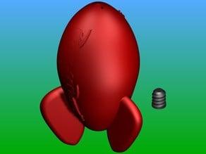 Pizza Planet Rocket Salt & Pepper Shaker
