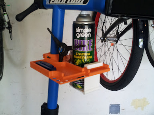 Bike Stand Tool Amp Parts Tray Park Amp Spin Doctor By