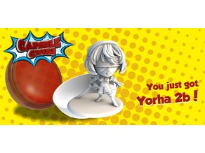 YorHa No 2 Type B Chibi figurine