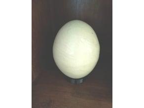 Ostrich Egg holder