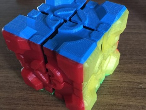 "Rubik's Companion Cube ""Stickers"" 2x2"