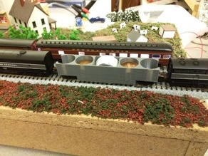 Track Cleaning Car - N Scale