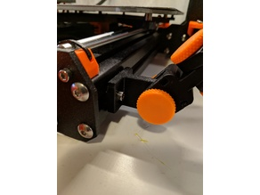 Articulating Raspberry PI Camera 3030 Mount for Prusa MK3