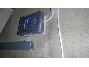 COMPUTHERM Q8RF wall mount base