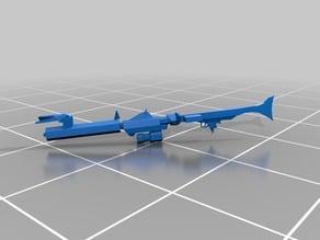 "DC-15A blaster rifle ""Legion Scale"""
