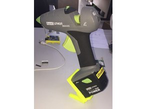 Foot Stand for Cordless Battery Powered Hot Glue Gun