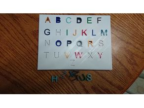 Alphabet Toy Shape Sorter