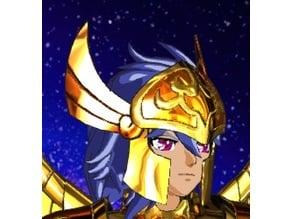 Siren Sorrento helmet from Saint Seiya Atlantis Saga