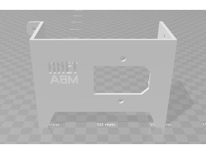Anet A8M Power Switch Cover