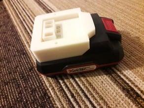 Parkside 20V battery adapter