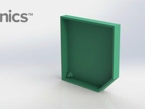 Left Cover - 3Dponics Snap & Grow Garden