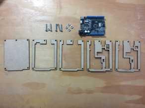 Arduino UNO SMD - MICRO USB Case
