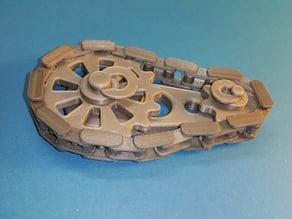 Gears rotating system - Chaîne pignons -