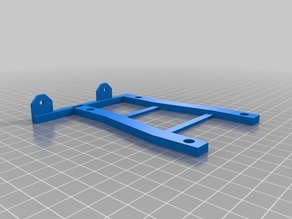 MPSM Raspberry Pi 3 Mount Bracket (Shifted 25mm for Large Z-Axis Spacers)