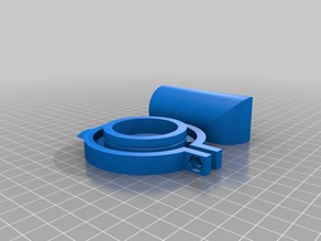 grey water to 32mm spiral hose adapter for Rimor motorhome