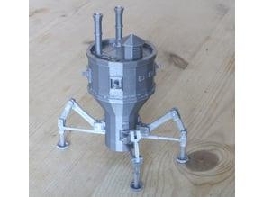 Steampunk Mobile Turret