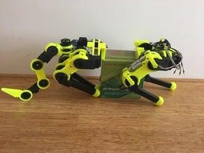 3D printed Robot Leg with Cycloidal Actuator and SEA