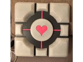 Companion Cube Lamp