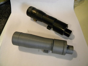 Star Wars E-11 Blaster Parts