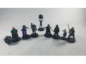 The Acquisitions Incorporated Miniature Collection