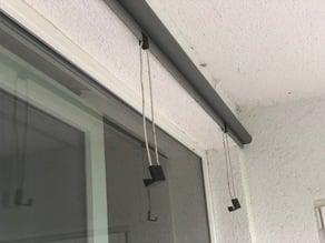 Hook for IKEA Tupplur window shade