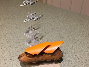 Star Wars X-wing: Jabba's Sail Barge