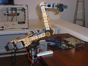 Botomaton 4-Axis robot arm prototype