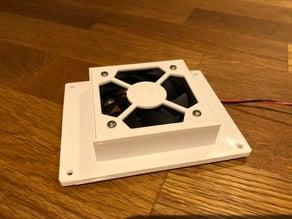 Tronxy X5S Board Cover 60mm Fan