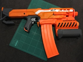Nerf Demolisher battery stock V2