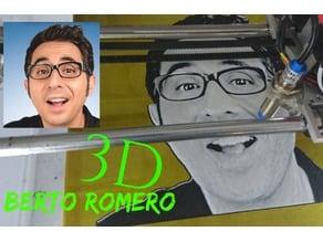 Dibujo 3D Berto Romero