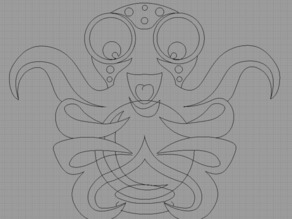 OctoPrint Logo in DXF