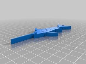 Articulated_Swordfish keychain