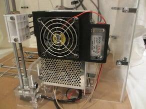 Anet A8 Fan Bracket for PSU