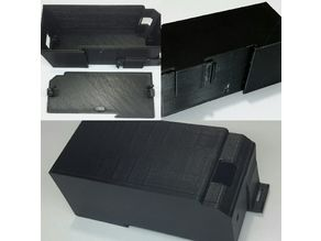 DIN Rail Industrial Case for PoE to Serial Bridge device