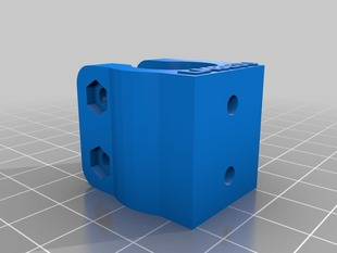 LME8UU bearing holder