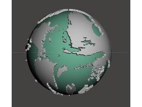 Toril Map Globe